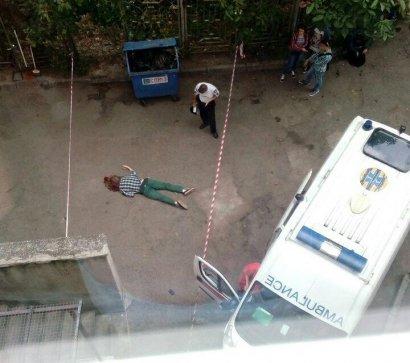 Сегодня утром с девятого этажа учебного корпуса Одесского Национального политехнического университета выпал 18-ти летний студент