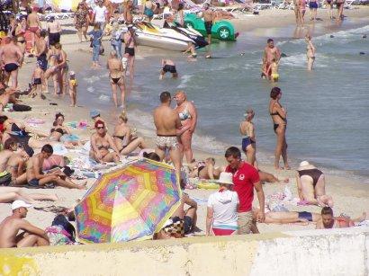 Одесситы провожали лето