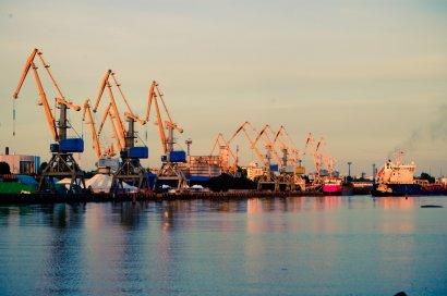 В Черноморском порту «окопалась» бронетехника