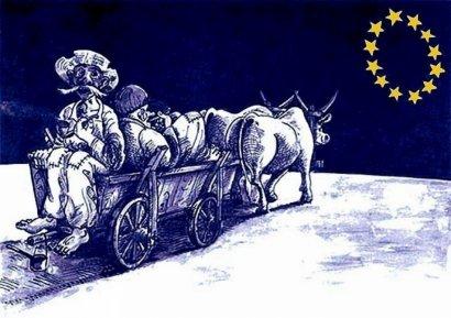 Задрав штаны, бегом в Европу
