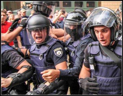 Сегодня на Думской площади хулиганили