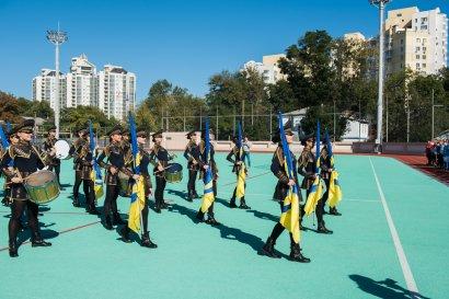 В Одессе состоялся турнир по мини-футболу среди полицейских «Золотой Грифон»