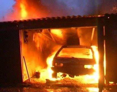 В Одесской области мужчина сгорел в собственном гараже
