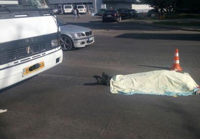 Смертельное ДТП произошло сегодня на поселке Котовского