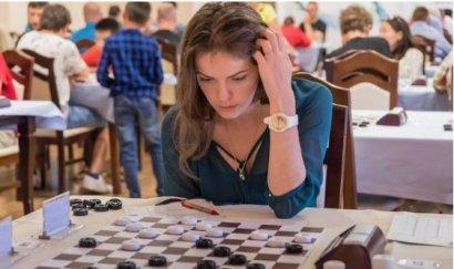Одесситка Виктория Мотричко впервые возглавила мировой рейтинг-лист среди женщин по шашкам