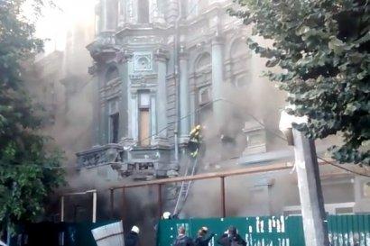 Причиной пожара в доме Руссова стал поджог