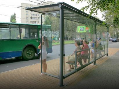 В ближайшее время в Одессе будут установлены восемнадцать новых стеклянных остановочных комплексов