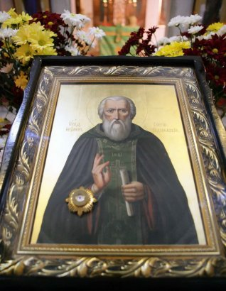 Одесситы отметили День памяти Преподобного Сергия Радонежского