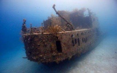 В Черном море нашли затонувший склад боеприпасов