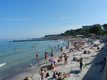 За прошедший курортный сезон одесские спасатели вытащили из воды более тысячи человек