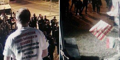 МИД Украины прореагировал на акцию по самоопределению для Закарпатья