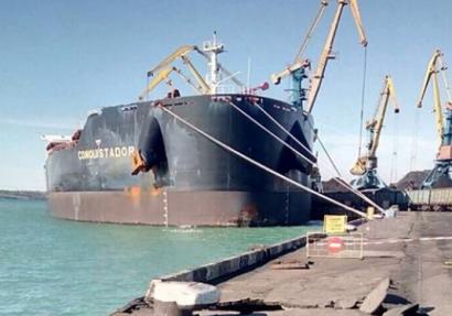 ЧП в порту Южный – серьезно, но не фатально