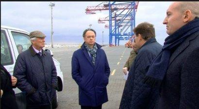 Посол ЕС готов помочь Одесскому порту