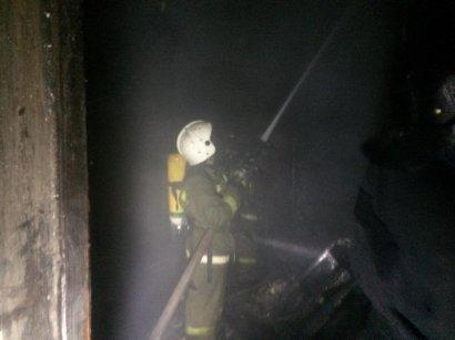 Серьезный пожар произошел в квартире старого дома в центре Одессы