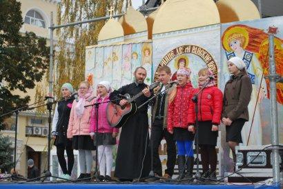 Праздник детского творчества в Иверском монастыре