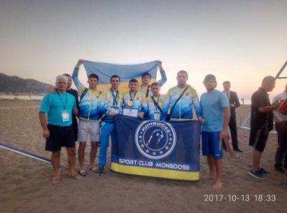 Триумф украинской сборной на Чемпионате мира по пляжной борьбе