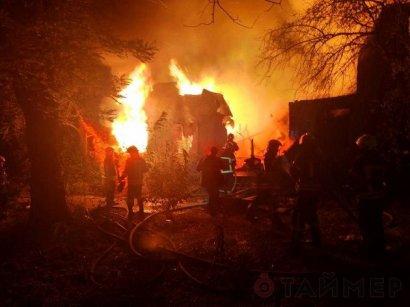 """Полиция открыла уголовное производство по факту вчерашнего пожара в одесском санатории """"Красные зори"""" в Одессе"""