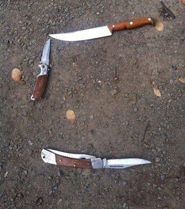 В Одессе бандиты с ножами напали на полицейских