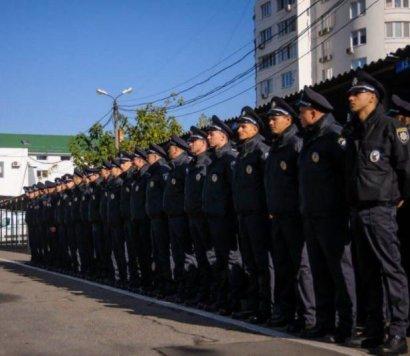 В одесской патрульной полиции – пополнение