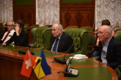 Одессу посетили парламентарии, юристы и банкиры Швейцарии