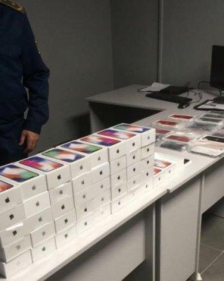 В Одесском аэропорту пассажир пытался ввезти в Украину 43 iPhone X