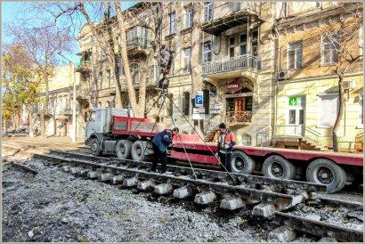 Предпоследний квартал основной транспортной артерии центра Одессы достраивают