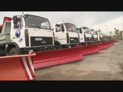 Одесские коммунальщики полностью готовы к борьбе со снежными заносами
