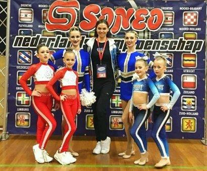 Одесские чирлидерши завоевали 5 золотых медалей в Голландии