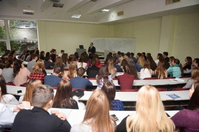 Одесскую Юракадемию посетил замминистра образования и науки Украины Роман Греба