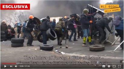 Фильм–расследование «Украина. Скрытая правда», который вышел на итальянском «5 канале», обвинил Саакашвили в организации расстрелов на Евромайдане