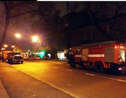 В Одессе на пожаре погиб человек