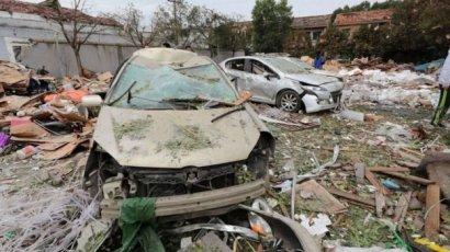 В китайском портовом городе прогремел мощный взрыв