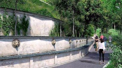 На склонах от Потемкинской лестницы до Тещиного моста, или Когда же мы прогуляемся по новому парку?