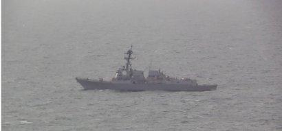 Совместная тренировка ВМС Украины с американским эсминцем «Джеймс Уильямс» прошла в Чёрном море