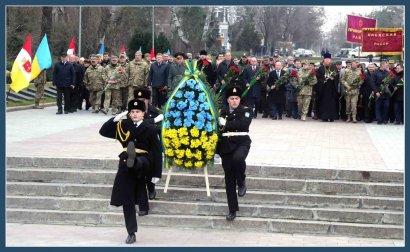 В Одессе торжественно отметили день Вооруженных сил Украины