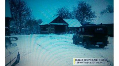 В Тернопольской области мужчина украл трактор, чтобы убирать снег