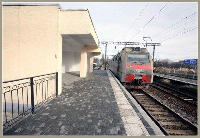 Платформа станции «Одесса-Застава-II» после реконструкции