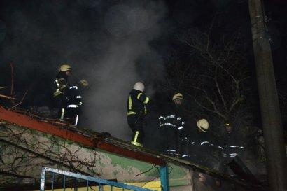 Серьезный пожар произошел накануне на Слободке