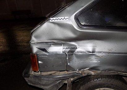 Любитель «пьяной езды» проверил на прочность полицейский автомобиль