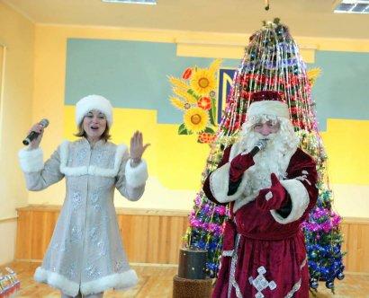 Праздник Святого Николая для особенных детей в доме-интернате на Макаренко, 20