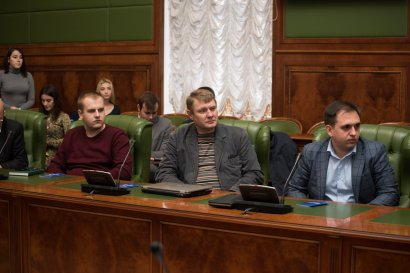 Партийные билеты получили новые члены Украинской морской партии