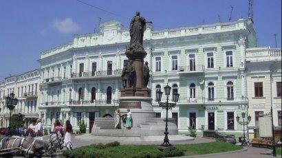 80% одесситов выступают против сноса памятника Екатерине II