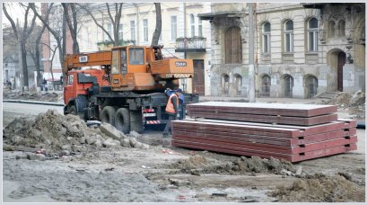 Реконструкция улицы Преображенской вышла на завершающую стадию