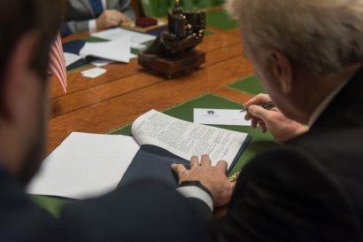 Одесский вуз подписал меморандум о сотрудничестве с Левитт Институтом Международного Развития