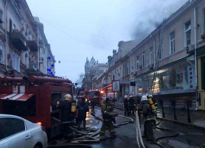В центре города горел ресторан