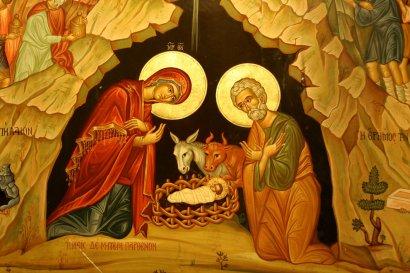 ХРИСТОС РОЖДАЕТСЯ — СЛАВЬТЕ! ХРИСТОС С НЕБЕС — ВСТРЕЧАЙТЕ!