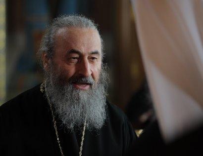 Митрополит Онуфрий поздравил православных с Рождеством Христовым