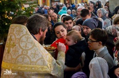 Праздник Рождества Христова в Свято-Успенском Одесском кафедральном соборе (Видео)