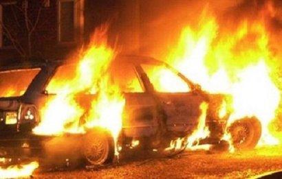 В Одессе снова горел автомобиль