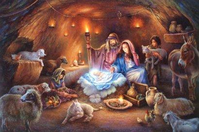 Спаситель родился, чтобы научить нас любить друг друга!